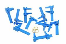 10 X SMALL modellers HOBBY CRAFT PLASTICA parallelo diapositiva Clamp 75mm x 40mm h4053