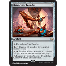 MTG COMMANDER (2018 Edition) * Retrofitter Foundry