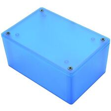 Hammond Blue ABS Enclosure 123 x 83 x 60mm 1591XXTTBU