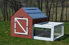 Amish Made Chicken Coop for 4 - 5 Chickens - mEGGa Chicken Coop