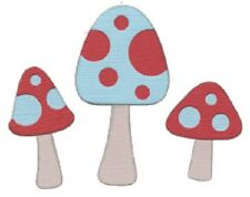 """Quickutz """"REV 0188-S Revolution Die """"Mushrooms"""" 1 Cutting Die NEW"""