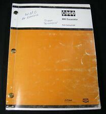 CASE 880 Excavator Tractor Parts Manual Book Catalog List Original OEM