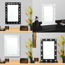 Lighted make up mirror ebay large vanity mirror with light hollywood makeup mirror wall mounted lighted new aloadofball Gallery