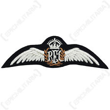 British ROYAL FLYING CORPS WINGS - Quality RFC Pilot WW1 Padded Uniform Patch