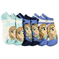 Disney Frozen Snowy Adventure Size 9-11 Ankle Socks 3-Pack