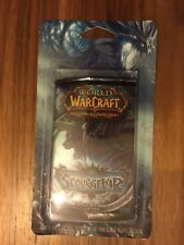WOW TCG Scourgewar box of 20 Blister packs containing 19 cards