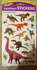 Discovering Dinosaurs? superShapes Stickers-Large Trend Enterprises Inc. T-46329