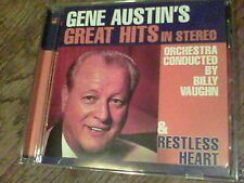 Gene Austin's Great Hits in stereo & Restless Heart  Billy Vaughn   fb1