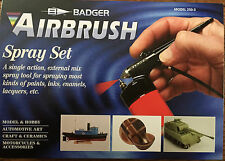 Badger BA2503 Basic Spray Gun Airbrush Set NIB