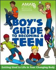 American Medical Association Boy's Guide to Becoming a Teen-ExLibrary