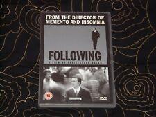 Following DVD (2003) 1999 Christopher Nolan Debut, Dark Knight, Tenet, Dunkirk