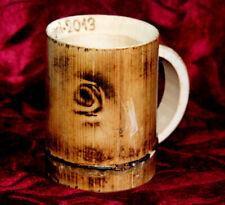 Bamboo wooden Big cup mug wood tea handmade beer natural primitive juice