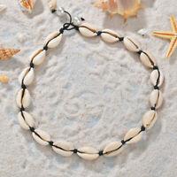 1PC Stylish Beach Bohemian Sea Shell Pendant Chain Choker Necklace Women Jewelry