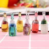1:12 Puppenhaus Miniatur Obstflasche nach Hause Obst Essen Flaschen Geschen X1A6