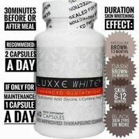 BESTSELLER GLUTATHIONE LUXXE WHITE ADVANCE WHITENING ANTIAGING 775mg 60capsules