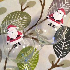 Christmas Stickers x 14 Vinyl Decal Santa Father Tree Snowflake Snowman Reindeer