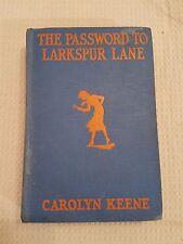 Nancy Drew The Password to Larkspur Lane 4 Glossy Internal Plates by Tandy