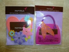 Papyrus Gift Card Holders 2 Ships Free