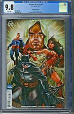 Heroes In Crisis # 1 Mark Brooks 1:100 Variant DC CGC 9.8 White Pages