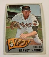 1965 Topps # 67 Harvey Haddix Baseball Card Baltimore Orioles