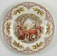 Victorian English Pottery Homeland Dinner Plate 11504296