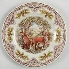 Victorian English Pottery HOMELAND Fox Dinner Plate 11504296