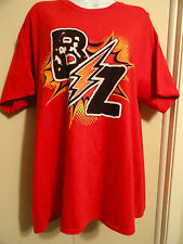 "RED XL BAZINGA COMIC SHOP, San Antonio TShirt: BZ -front;back-""We've Got Issues"""