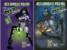 TAROT WITCH OF THE BLACK ROSE #122 SET OF 2 COVERS A & B BROADSWORD COMICS 2020