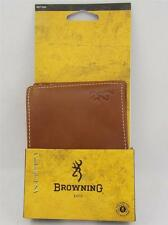 Browning Executive Leather Mens Wallet Bifold Wallet/Organizer for Men - New