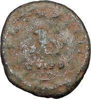 GALLIENUS son of Valerian I  Very Rare Ancient Roman Coin LION w BULL  i16239