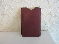 Valextra Leather Case for iPhone