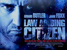 Law Abiding Citizen - Original D/S UK British Quad Poster 40 x 30 inches