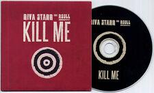 RIVA STARR ft RSSLL Kill Me Remixes UK 7-track promo CD