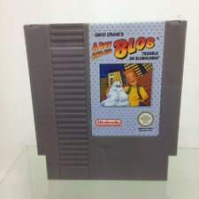 A BOY AND HIS BLOB/jeux NINTENDO NES ,pal,TBE,vintage -