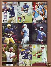 25 DIFF. 1995 Steve McNair ROOKIE CARDS - Tennessee Titans Ravens OIlers - RC's