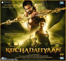 KOCHADAIIYAAN - BOLLYWOOD ORIGINAL SOUNDTRACK CD - A. R. RAHMAN - FREE POST