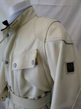 giacca jacket  giubbotto vera pelle belstaff panther  taglia 40
