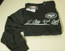 NEW YORK JETS MENS SIZE 6X BIG LONG SLEEVED LICENSED T-SHIRT -GRAY- NWT