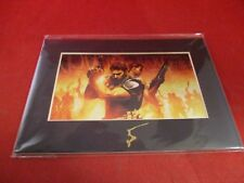 Resident Evil 5 Playstation 4 PS3 Xbox 360 One Promo Limited Ed. Laser Art Cel