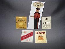 Mini-Craft, Flyerville Cigarette Sign Assortment for American Flyer