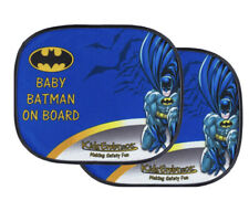 Kids Embrace DC Comics Batman Baby On Board Infant Car Window Sun Shade (Pair)