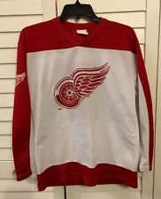 Off The Bench Vintage Detroit Red Wings Youth Large Fedorov Jersey Hockey NHL