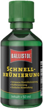 Brunitore rapido a freddo Ballistol Klever 50 ml