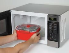 Contenitore per cottura a vapore da 2,4 lt. micro onde microwave medio microonde
