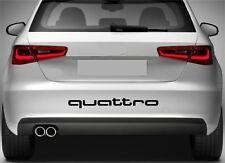 Rear Bumper Stickers Fits Quattro Audi Decal Premium Quality XZ75