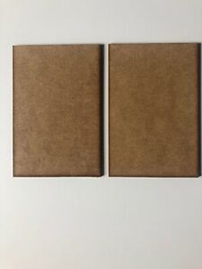 2mm MDF Bases 120mm x 80mm Pack of 2