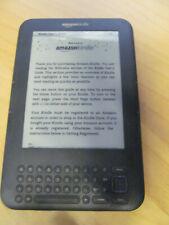 """Amazon Kindle Keyboard 3rd Gen 4 GB Wi-Fi  6 """" 40PW"""