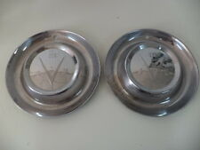 1953 BUICK SUPER(50) & ROADMASTER(70) WHEEL COVERS (2) GM 1161633/Group 5.858