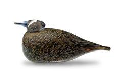Iittala OIVA TOIKKA Art Glass Bird  Spotted Crake New