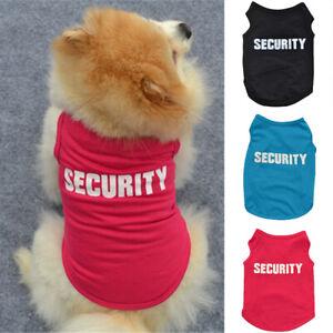 Pet Dog Clothes T-shirt Puppy Cat Clothes Coat Bulldog Chihuahua Apparel Costume